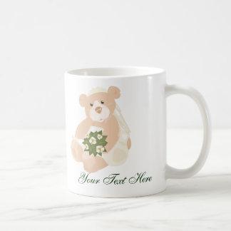 Taza de los osos de la novia y del novio