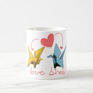 taza de los pájaros del amor