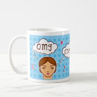 taza de los pañuelos del omg