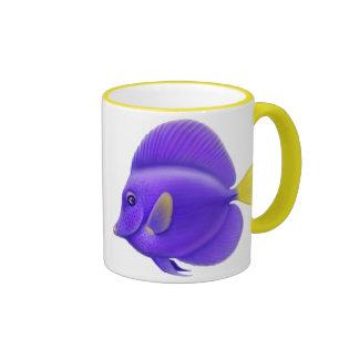Taza de los pescados del filón de Tang de los Yell