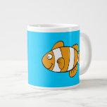 Taza de los pescados del payaso taza jumbo