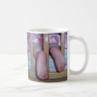Taza de los pies del bebé