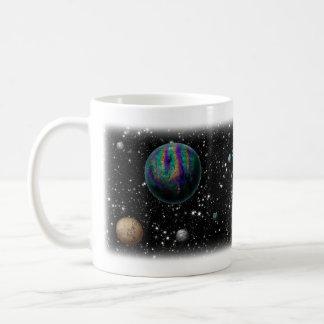 Taza de los planetas de la ciencia ficción