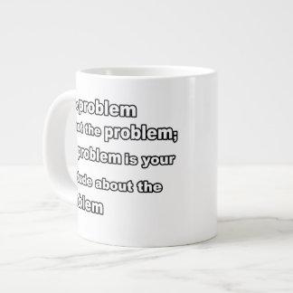 taza de los problemas tazas extra grande