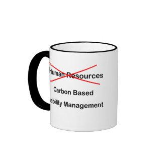 Taza de los recursos humanos