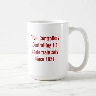 Taza de los reguladores del tren