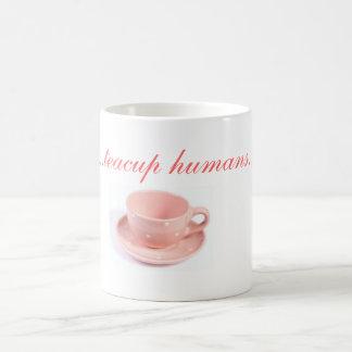 taza de los seres humanos de la taza de té