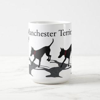 Taza de los terrieres de Manchester