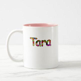 Taza de los tonos de Tara dos