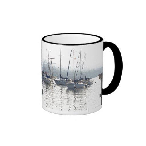 Taza de los veleros del amanecer