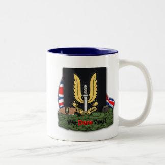 Taza de los veteranos de guerra del SAS Malvinas