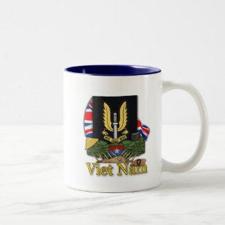 Taza de los veteranos de guerra del SAS Vietnam