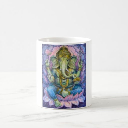 Taza de Lotus Ganesha