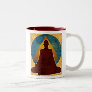 taza de lujo budista 12-Step