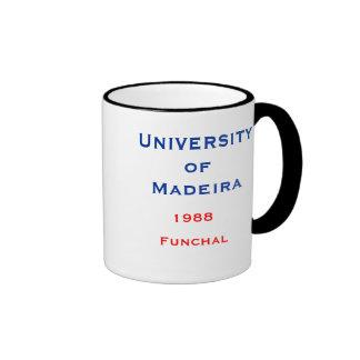 Taza de Madeira - de la universidad de Madeira