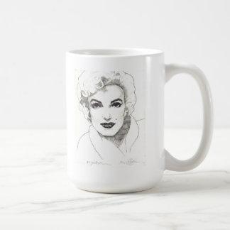 Taza de Marilyn - tres