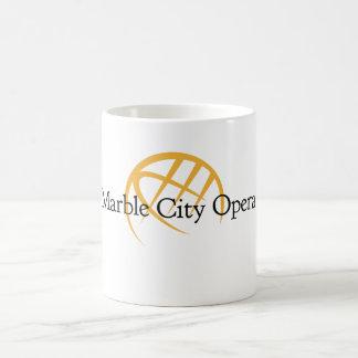 Taza de mármol de la ópera de la ciudad