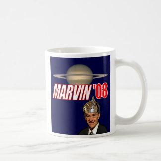 Taza de Marvin de café de RonPaul