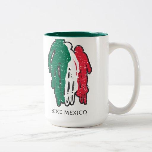 Taza de México de la bici