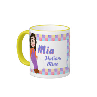 Taza de Mia