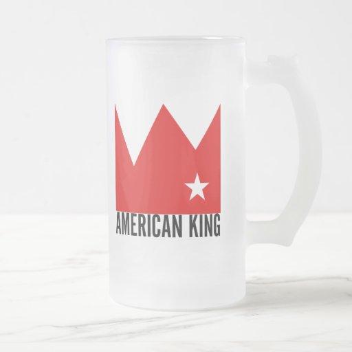 Taza de MIMS - rey americano de la Ji-Ciudad