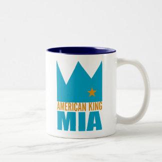 Taza de MIMS - rey americano de MIA