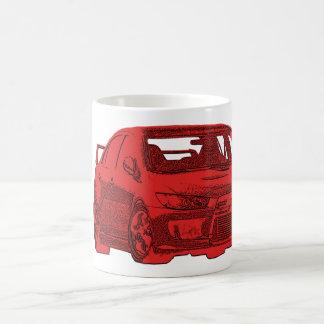 Taza de Mitsubishi Evo