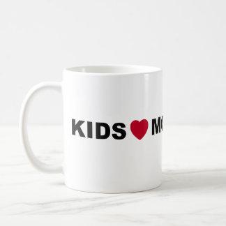 Taza de Montessori del amor de los niños