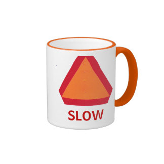 Taza de movimiento lento del vehículo