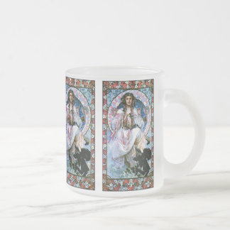 Taza de Mucha: Slavia - arte Nouveau - secesión