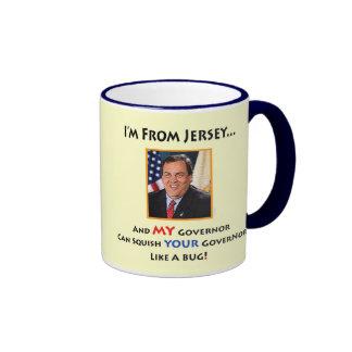 Taza de New Jersey Gov. Chris Christie