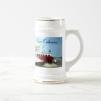 Taza de New Orleans del barco de vapor
