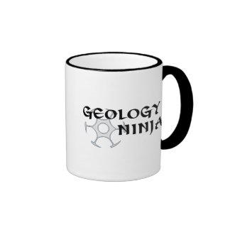 Taza de Ninja de la geología
