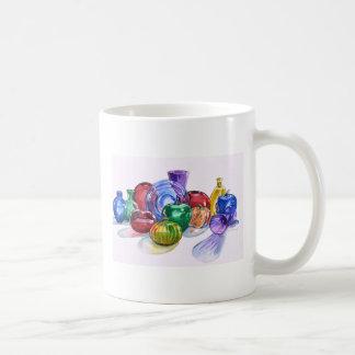 Taza de no. 6 del vidrio del arco iris