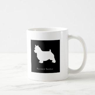Taza de Norwich Terrier (negro)
