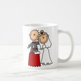 Taza de novia y del novio