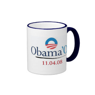 Taza de Obama clásico '08