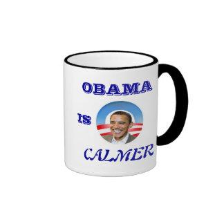 Taza de Obama de McCain