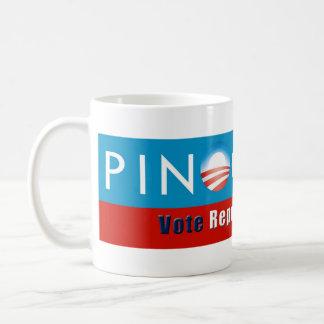 Taza de Obama (Pinocchio/republicano del voto)
