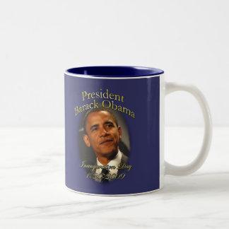 Taza de Obama: Taza conmemorativa de la inauguraci