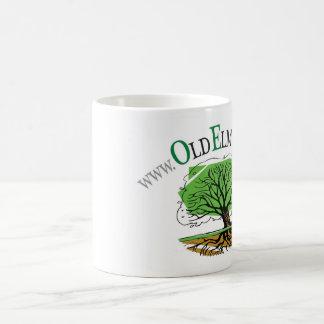 Taza de OET con diseño del URL