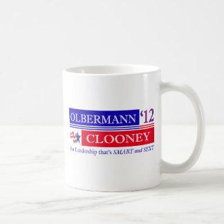 Taza de Olbermann Clooney 2012