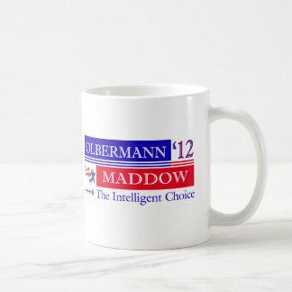 Taza de Olbermann Maddow 2012