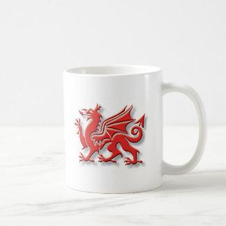 Taza de País de Gales con el Celtic Knotwork