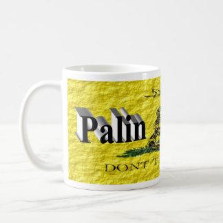 Taza de PALIN 2016, 3D negro, Gadsden