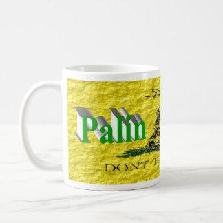 Taza de PALIN 2016, 3D verde claro, Gadsden