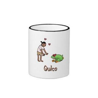 Taza de Papo y de Yo - Quico y rana