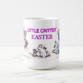 Taza de Pascua del Critter de Mayer del sedero peq