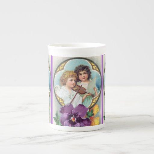 Taza de Pascua del vintage Taza De Porcelana