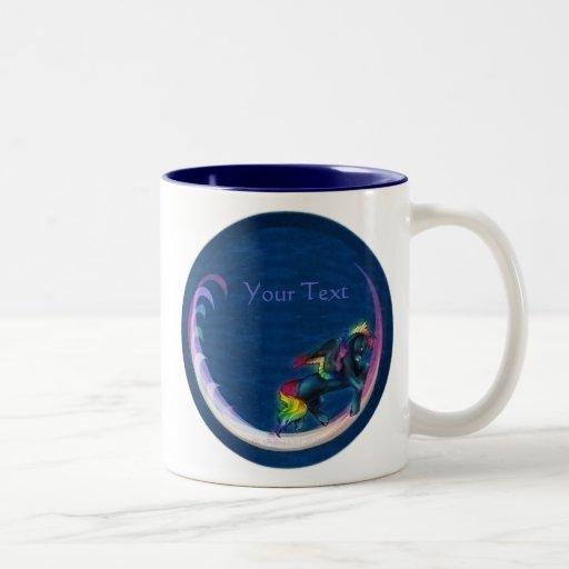 Taza de Pegaso del arco iris